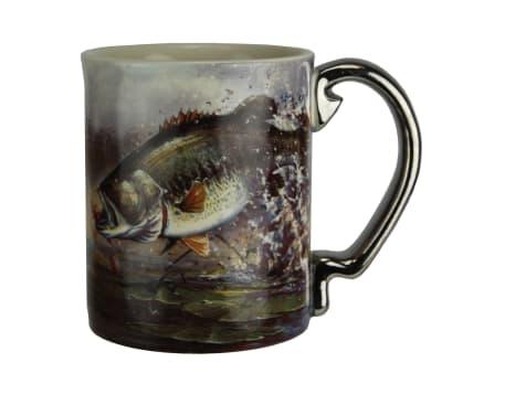 Rivers Edge Ceramic 3D Mug 15oz
