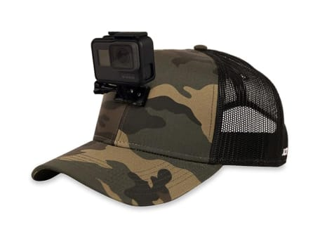 Line Cutterz Action Hat GoPro Ready - Camo