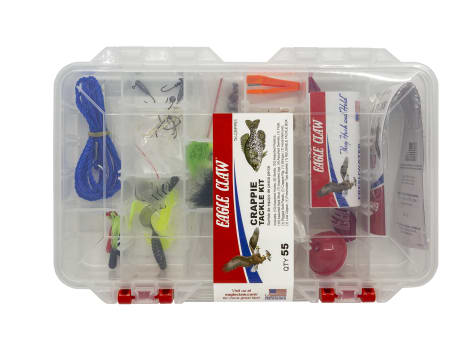 Eagle Claw Crappie Tackle Kit