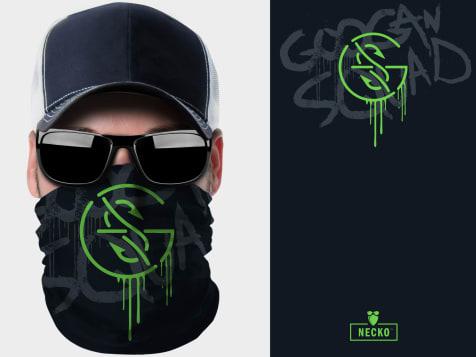Googan Squad Logo Necko 2.0