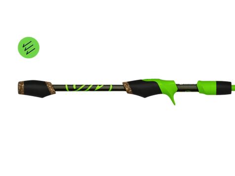 Googan Squad Green Series Twitch Casting Rod
