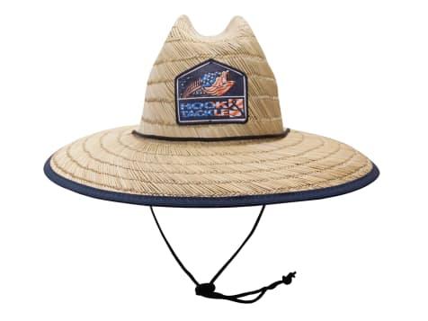 Hook & Tackle Bass Lifeguard Straw Hat