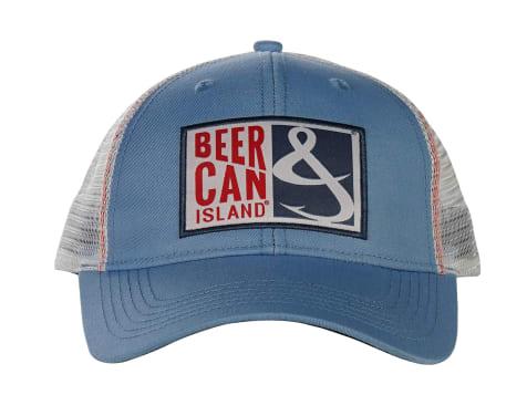 Hook & Tackle Beer Can Island Trucker