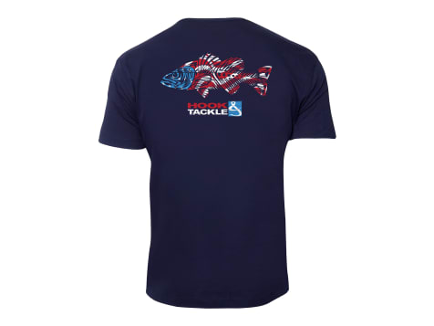 Hook & Tackle Bass American T-Shirt