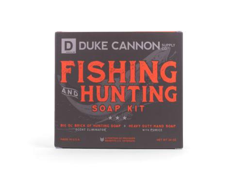 Duke Cannon Fishing and Hunting Soap Kit