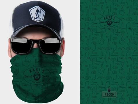 Karl's Bait & Tackle Logo Necko