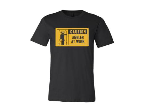Karl's Bait & Tackle Angler At Work T-Shirt