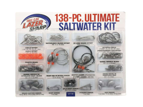 Eagle Claw Lazer Sharp Ultimate Saltwater Terminal Kit