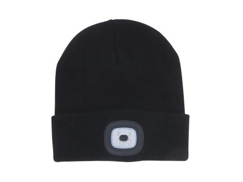 Night Scout Knit Beanie - Black