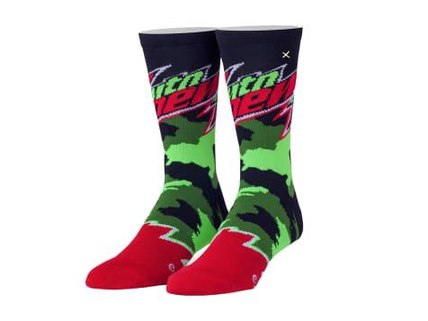 Odd Sox Mountain Dew Camo Socks