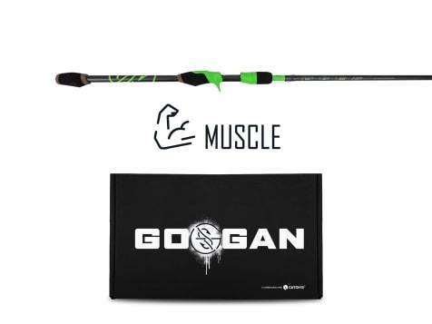 Googan Squad CatchSmart™ Muscle Rod & Kit Bundle