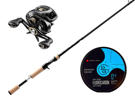 Baitcasting Rod Bundle