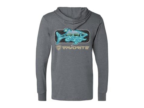Favorite Fishing Simmer Tri-Blend Hoodie