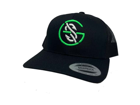 Googan Squad The Logo Trucker - Black/Black