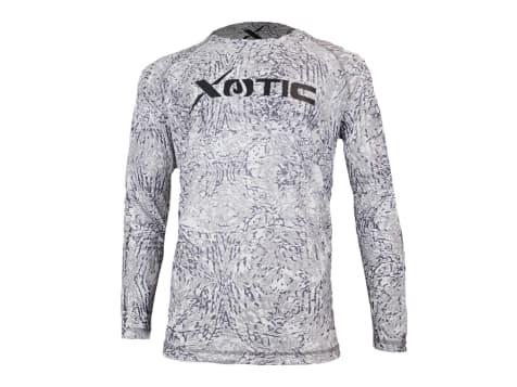 Xotic Camo and Fishing Gear Long Sleeve Performance Shirt