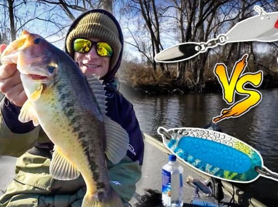 Blade Baits Vs Spoons: A Winter Fishing Battle Royale