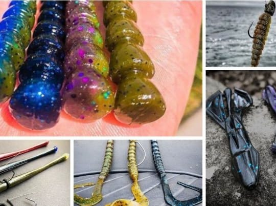 The 5 Best Soft Plastics Fishing Lures For Catching Bass