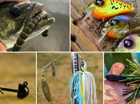 The Best Lures For Catching Bass In Ponds: 6 Baits That Work All Year Long