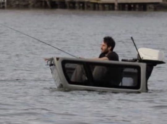 Wildman Turns A Truck Topper Into A Fishing Boat (Don't Try This At Home)