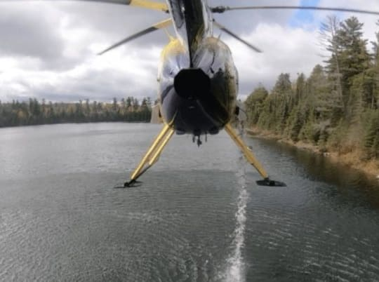 Minnesota Stocks Remote Lakes By Dumping Trout From Helicopters