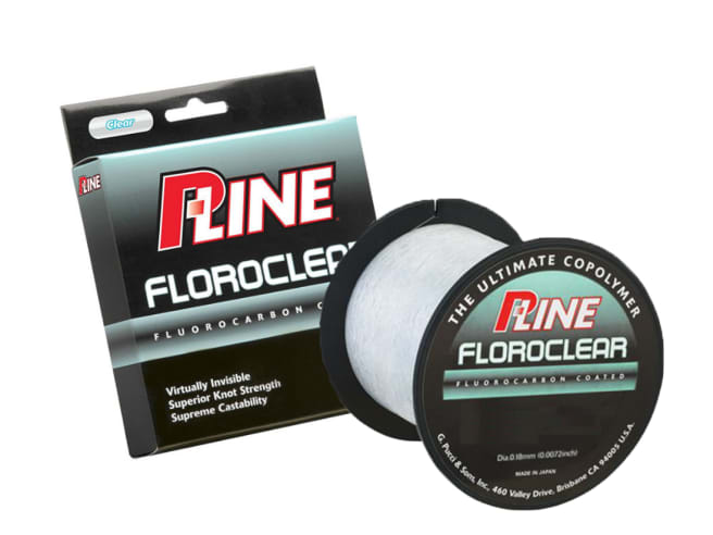 P-Line Floroclear Fishing Line