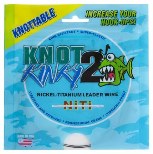 Knot2Kinky Nickel-Titanium Leader Wire