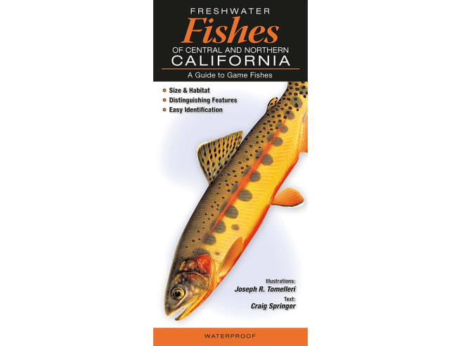 Freshwater Fishes of Central/Northern California Guide