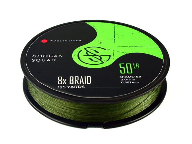 Googan Squad 8x Braided Line