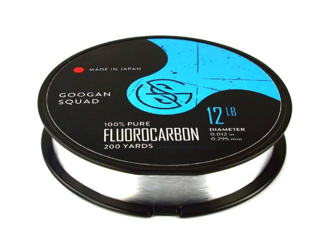 Googan Squad 100% Pure Fluorocarbon Line