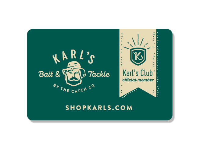 Karl's Club Membership Gift Card