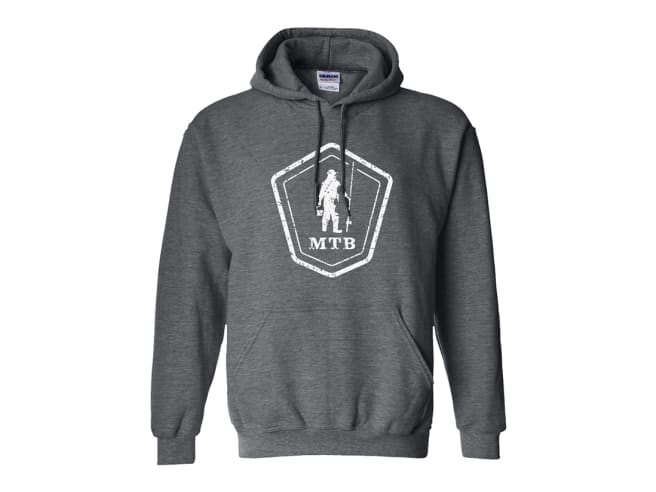 MTB Crest Logo Distressed Hoodie
