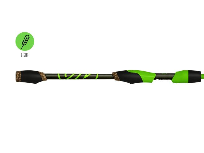 Googan Squad Green Series Finesse Light Spinning Rod