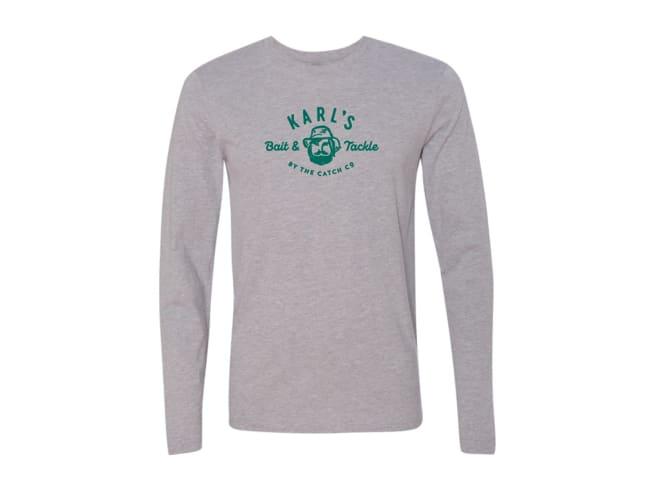 Karl's Bait & Tackle Longsleeve Logo T-Shirt