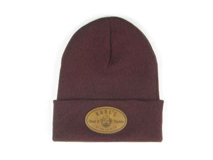 Karl's Bait and Tackle Cuffed Beanie