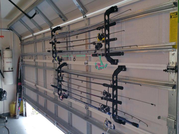 Fishing Rod Rack For Garage Door Garage Designs