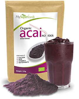 Organic Acai Berry Powder 125 grams