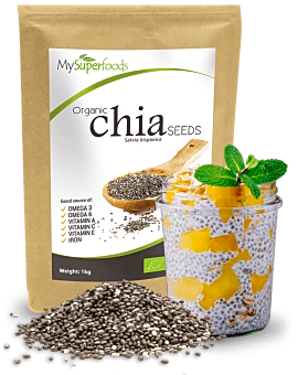 Organic Chia Seeds 1 kg