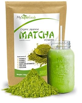 Organic Green Tea Powder 100 grams