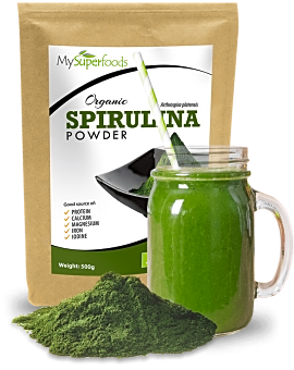 Organic Spirulina Powder 500 grams