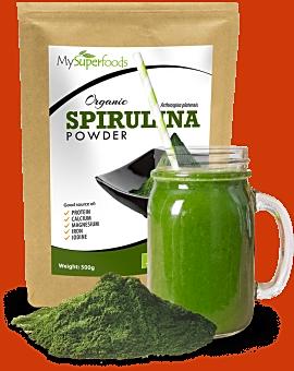 Organic Spirulina Powder 500 grams