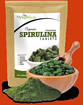 Organic Spirulina Tablets 300