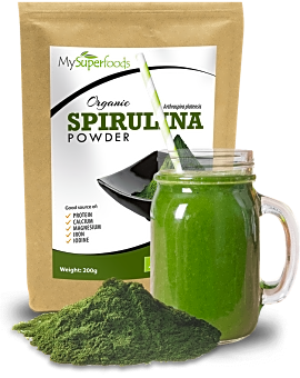 Organic Spirulina Powder 200 grams