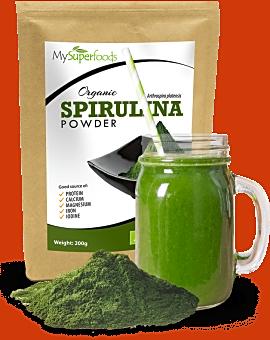 Organic Spirulina Powder 200 grams