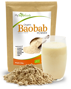 Organic Baobab Powder 500 grams