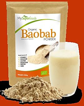 Organic Baobab Powder 500 grams