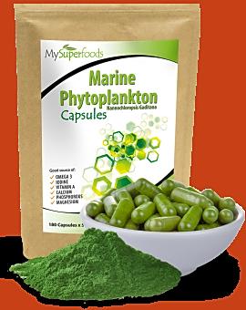Marine Phytoplankton Capsules 180