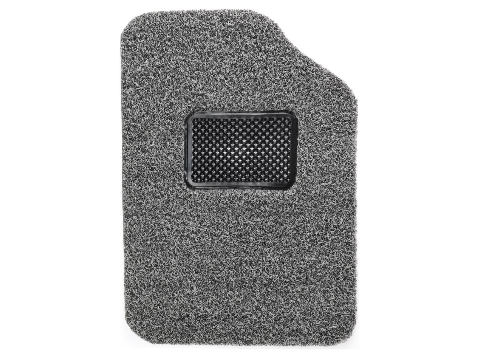 CFM-1 Anti Skid Coil Floor Mats - Black + Grey