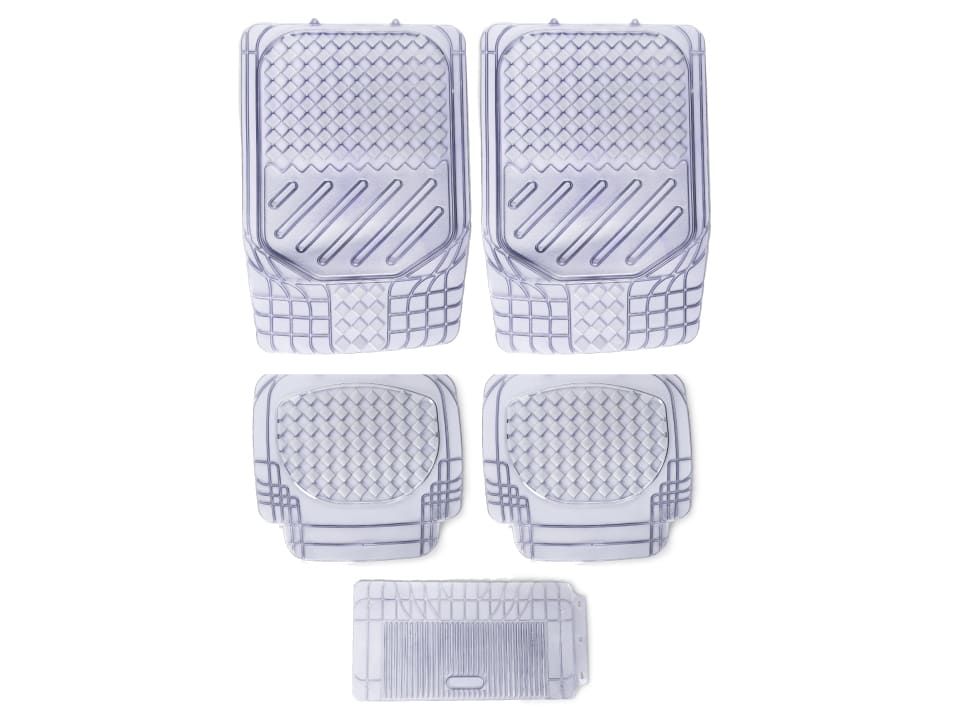 Buy online myTVS Universal PVC Car Floor Mat Clear at low price