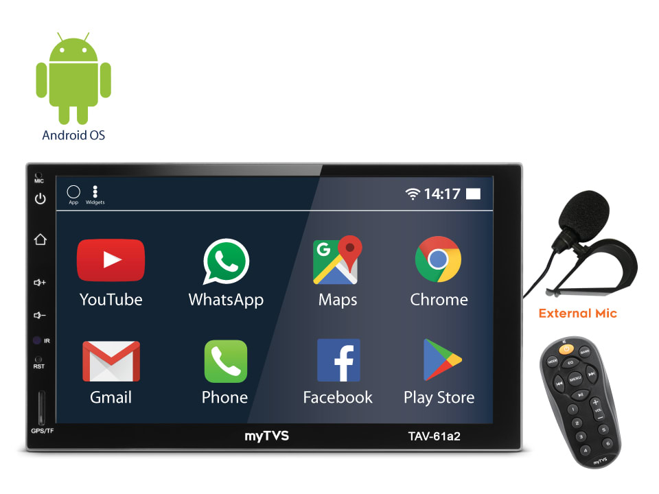 Experience wonderful music on the go with myTVS TAV-61A2 at discount price.