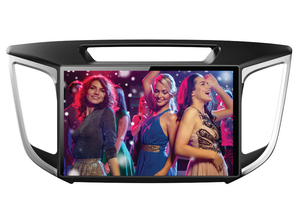 Mesmerizing entertainment on the go with AVHY1 Smart Fit Android Touchscreen